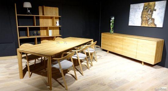 Salle A Manger Chene Style Contemporain Venez Decouvrir Ces Magnifiques Meubles Chez Les Meubles Richard A Florenville En Belgique
