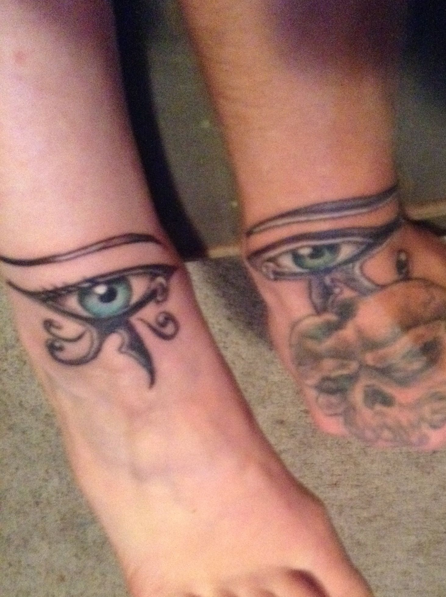 Our Brothersister Tattoos If You Carry An Evil Eye It Is Said If