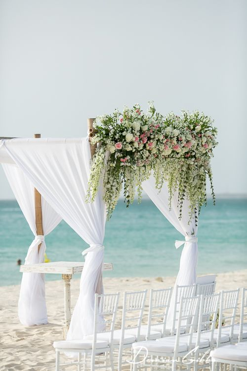 This Ceremony Arch Would Be Gorgeous For An Aruba Destination Wedding Photo Courtesy Of Demian Gibbs Photography