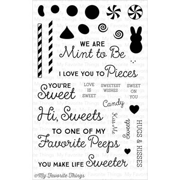 My Favorite Things CANDY JAR COMPANIONS Clear Stamps MFT