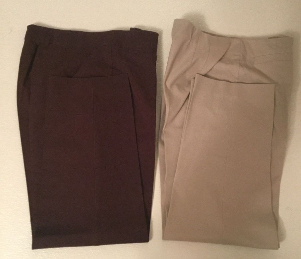 3396f62113f Lot of 2 Talbots women casual pants size 10 cotton blend Beige  fashion   clothing  shoes  accessories  womensclothing  pants (ebay link)