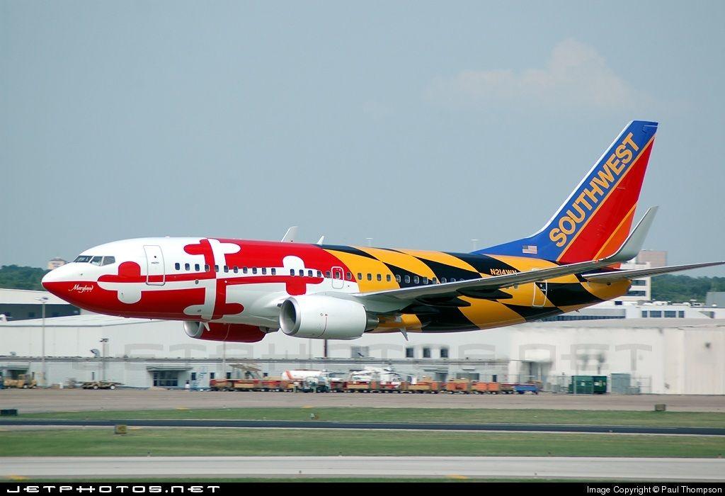 4b7f4658d63b Southwest Airlines B737