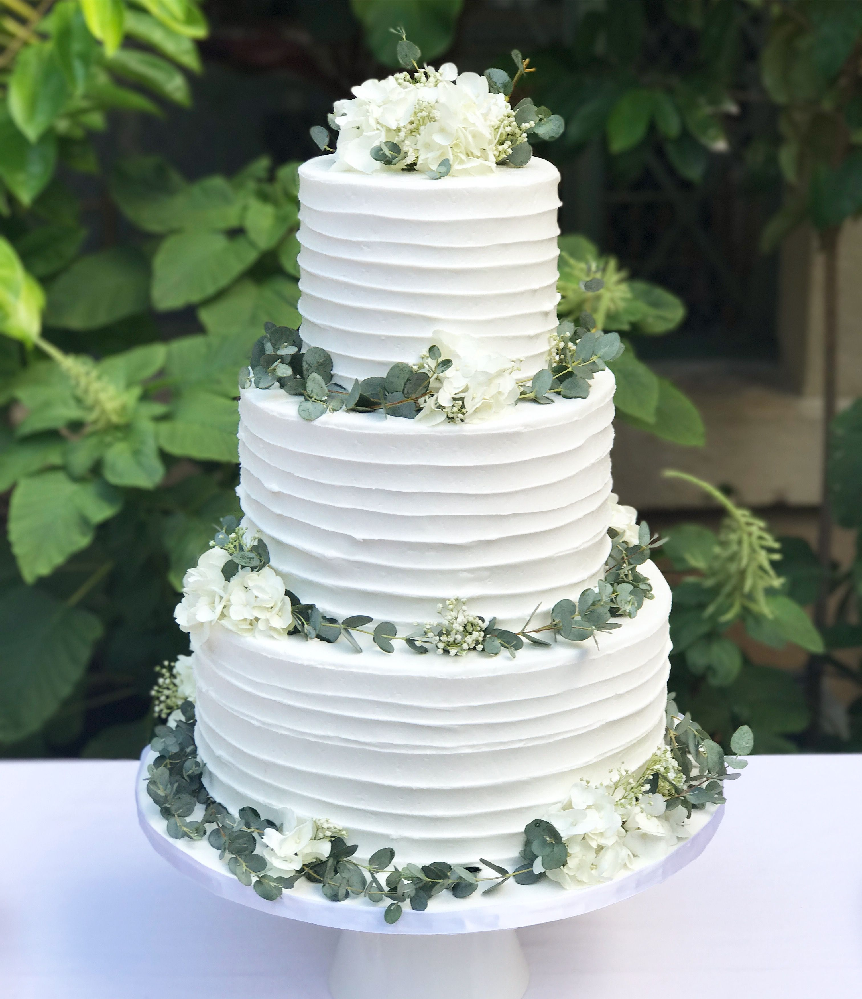 Greenery Wedding Greenery And Botanical Themed Party This Cake