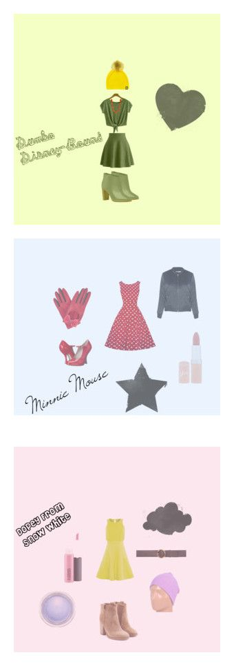 """Disney-Bound"" by sineadmurphy152 on Polyvore featuring WithChic, Chicwish, Tallis, Kim Rogers, Ted Baker, Gizelle Renee, Vivienne Westwood, Glamorous, Rimmel and Neff"
