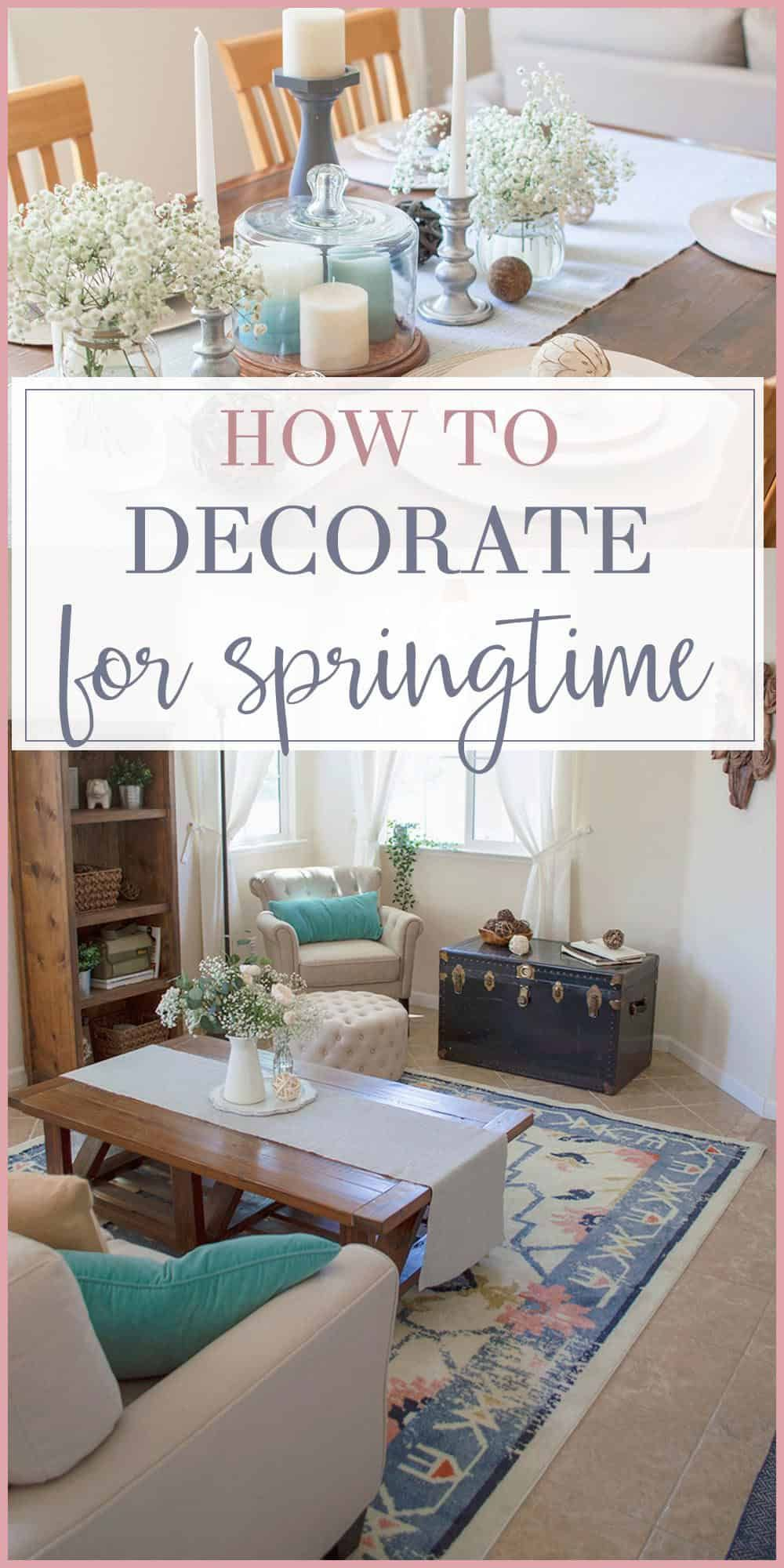 It S Here Now Revealing The 2018 Spring Home Tour Trendy Home
