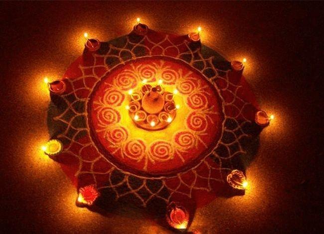 30 Creative Rangoli Designs For Diwali Decoration