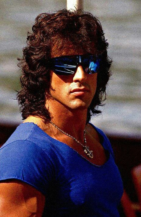 Sly's Rambo hair | people in 2019 | Sylvester stallone