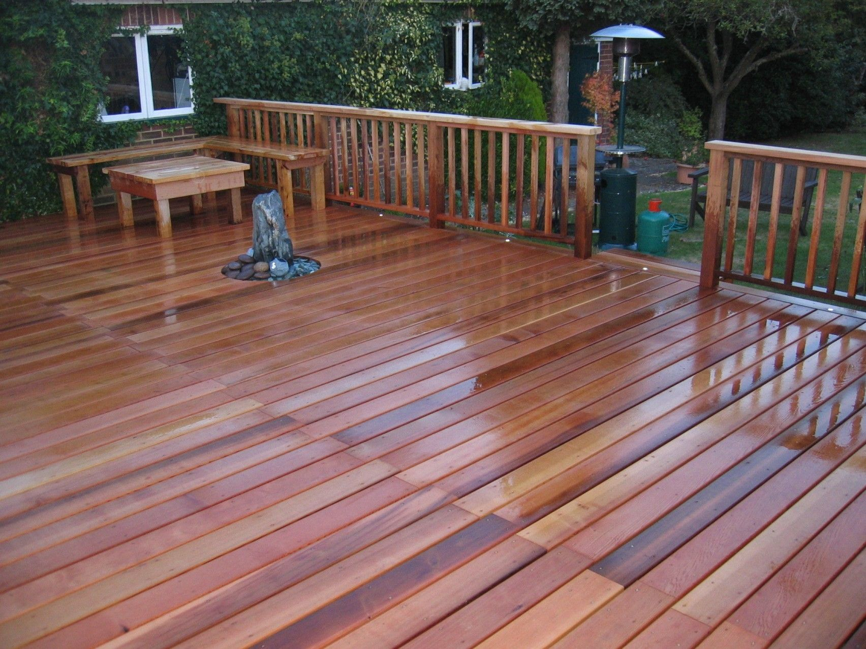 Terrasse Red Cedar Red Cedar Deck Pictures Patio Cedar Deck Deck Pictures Et Deck