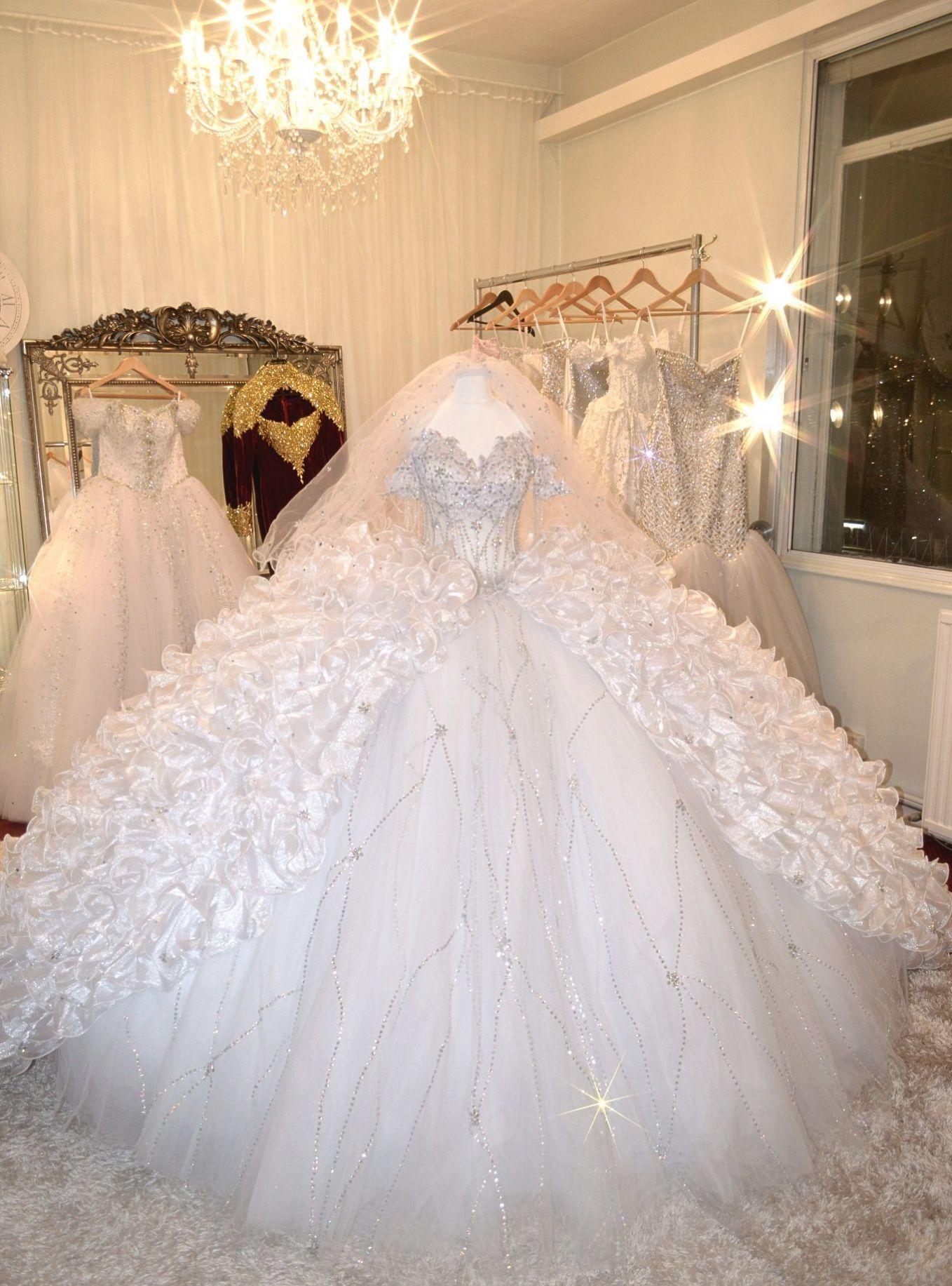 See through corset wedding dresses  SEXY AURORA BOREALIS SEE THROUGH CORSET WEDDING DRESS  METER WIDE