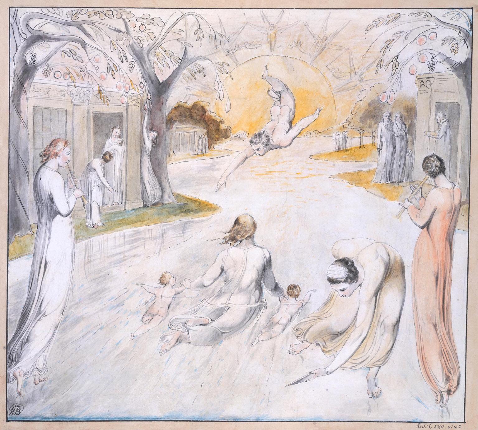 William Blake 'The River of Life', c.1805