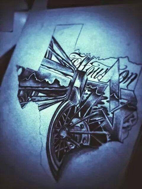 Pin by Brianna Alexis💋 on ☆tattoos☆   Houston tattoos, Texas ...