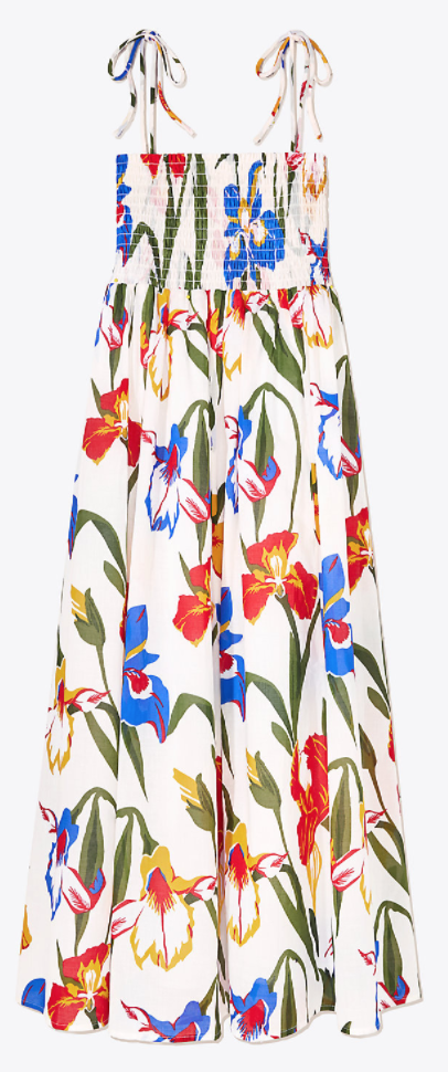d2d6f378f7 Tory Burch Convertible Iris Dress | Spring/Summer 2018 | Fashion ...