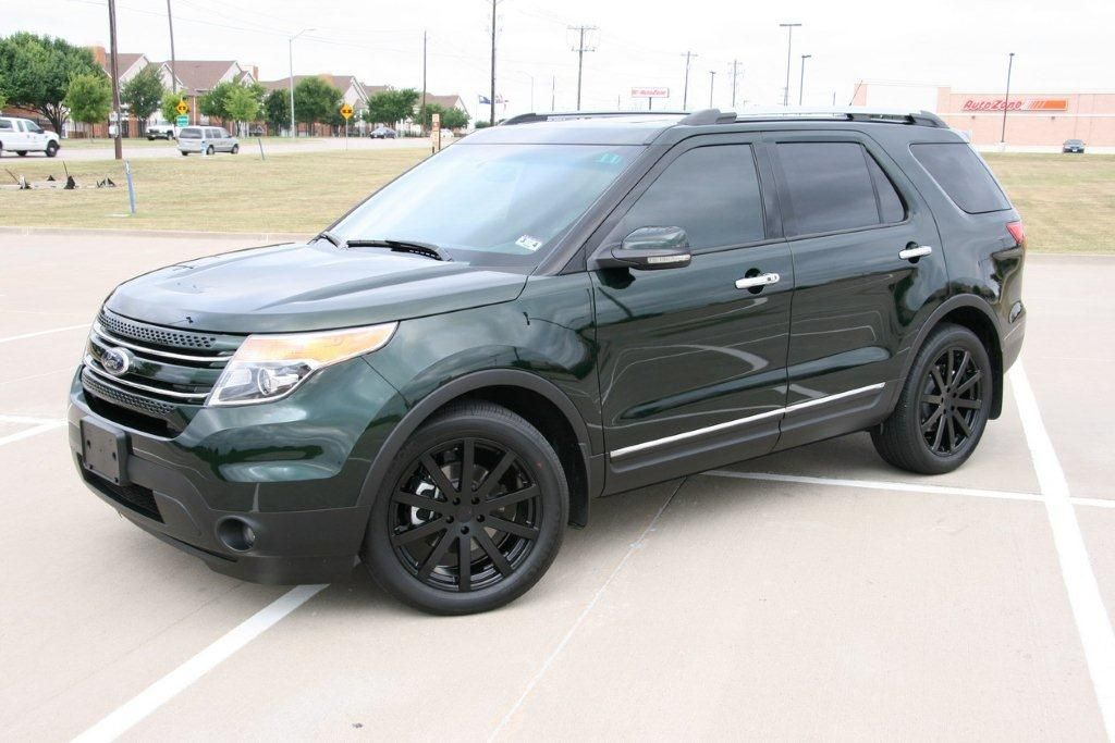 Undefined Ford Explorer Explorer Sport Aftermarket Wheels