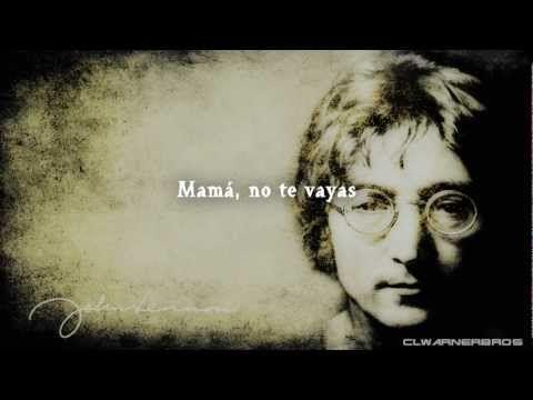 John Lennon - Mother (Traducida al español) - YouTube   Imagine john  lennon, John lennon, Lennon