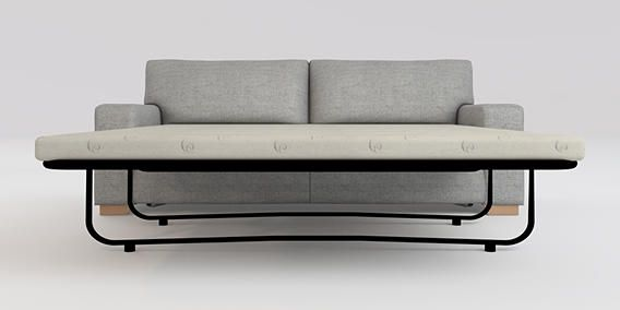 Buy Sonoma II Memory Foam Sofa Bed - Large (2 people ...