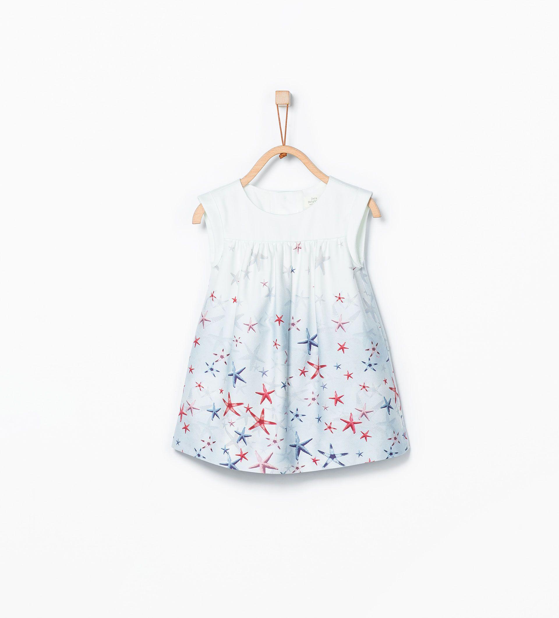 e3e3e013afc Φόρεμα με στάμπα βυθό θάλασσας - ΦΟΡΕΜΑΤΑ - ΒΡΕΦΙΚΑ ΚΟΡΙΤΣΙ (3 ΜΗΝΩΝ - 3  ΕΤΩΝ) - ΠΑΙΔΙΚΑ   ZARA ΕΛΛΑΔΑ
