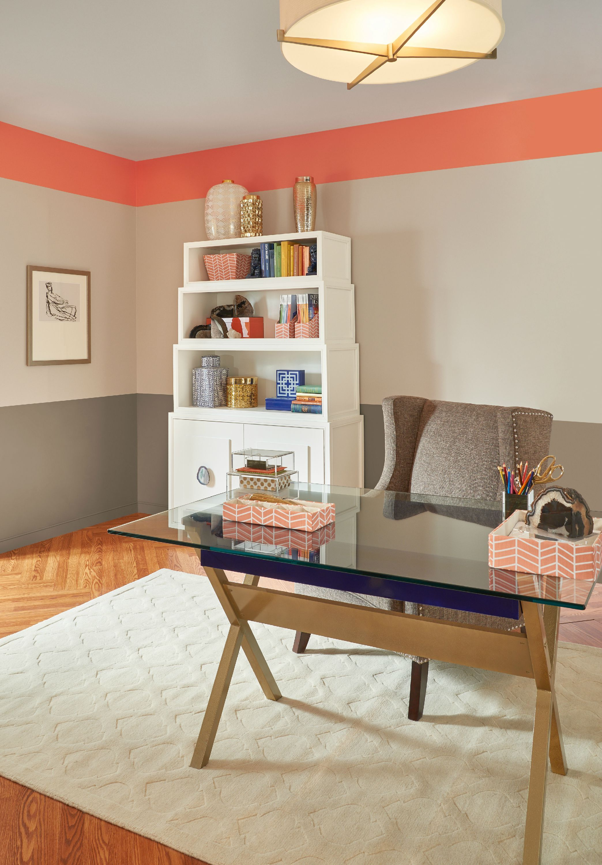 looking for a light and airy color palette to update your on best paint colors for home office id=84173
