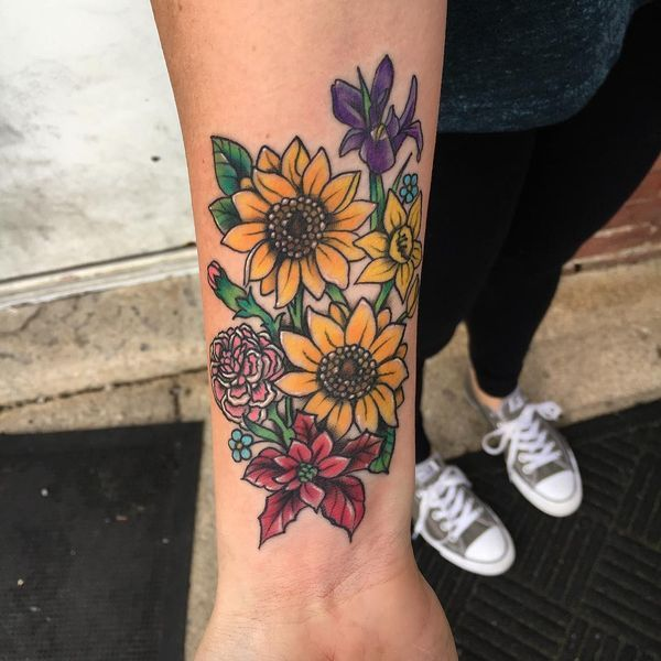 Sunflower Tattoo Meaning and Designs (2018) | Tattoo ideas