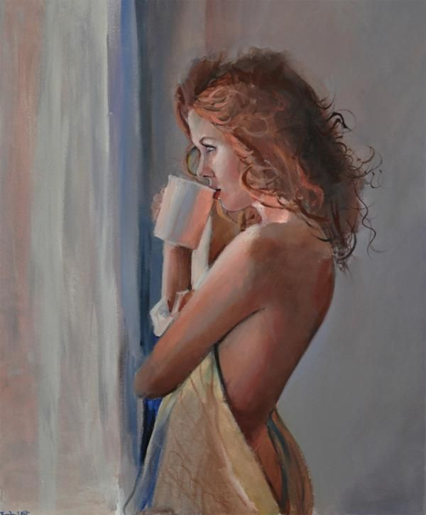 Figurative Paintings by Emilii Wilk | Figurative and Paintings