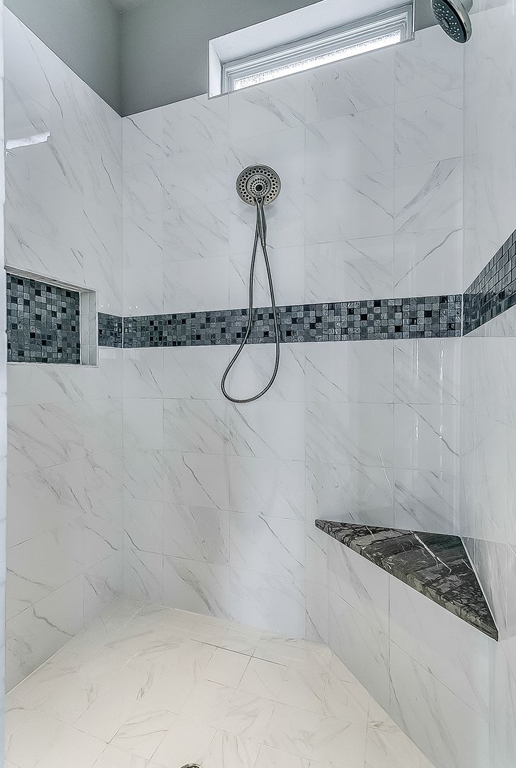 Ceramic Tile Similar To Marble Deciding If Black Or Gray Bullnose Gloss Matte