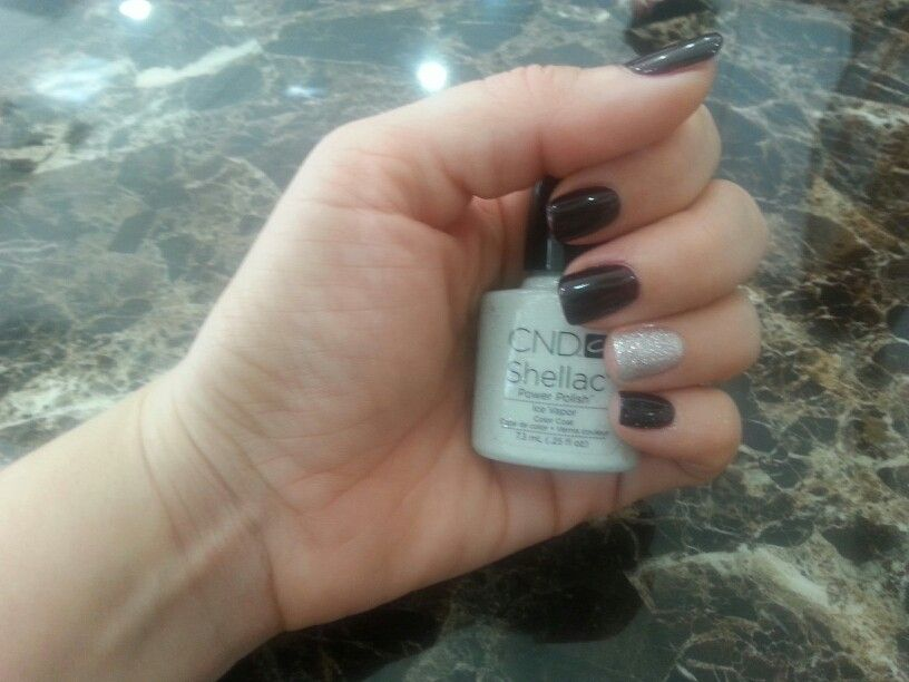 Nails By Whitney at RUMORS SALON in Johnson City TN(CND Shellac Fall ...