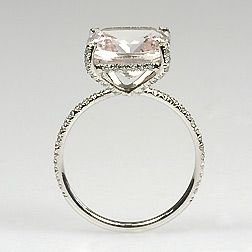 morganite rings. ONG BEST RING EVER SAW IN MY LIFE