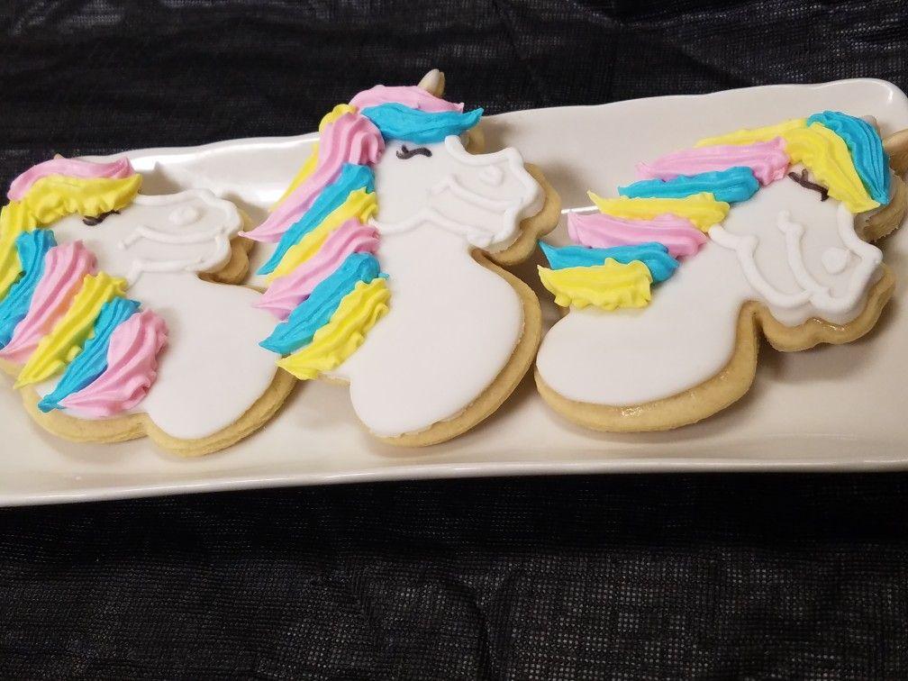 Unicorn Cookie Bouquet