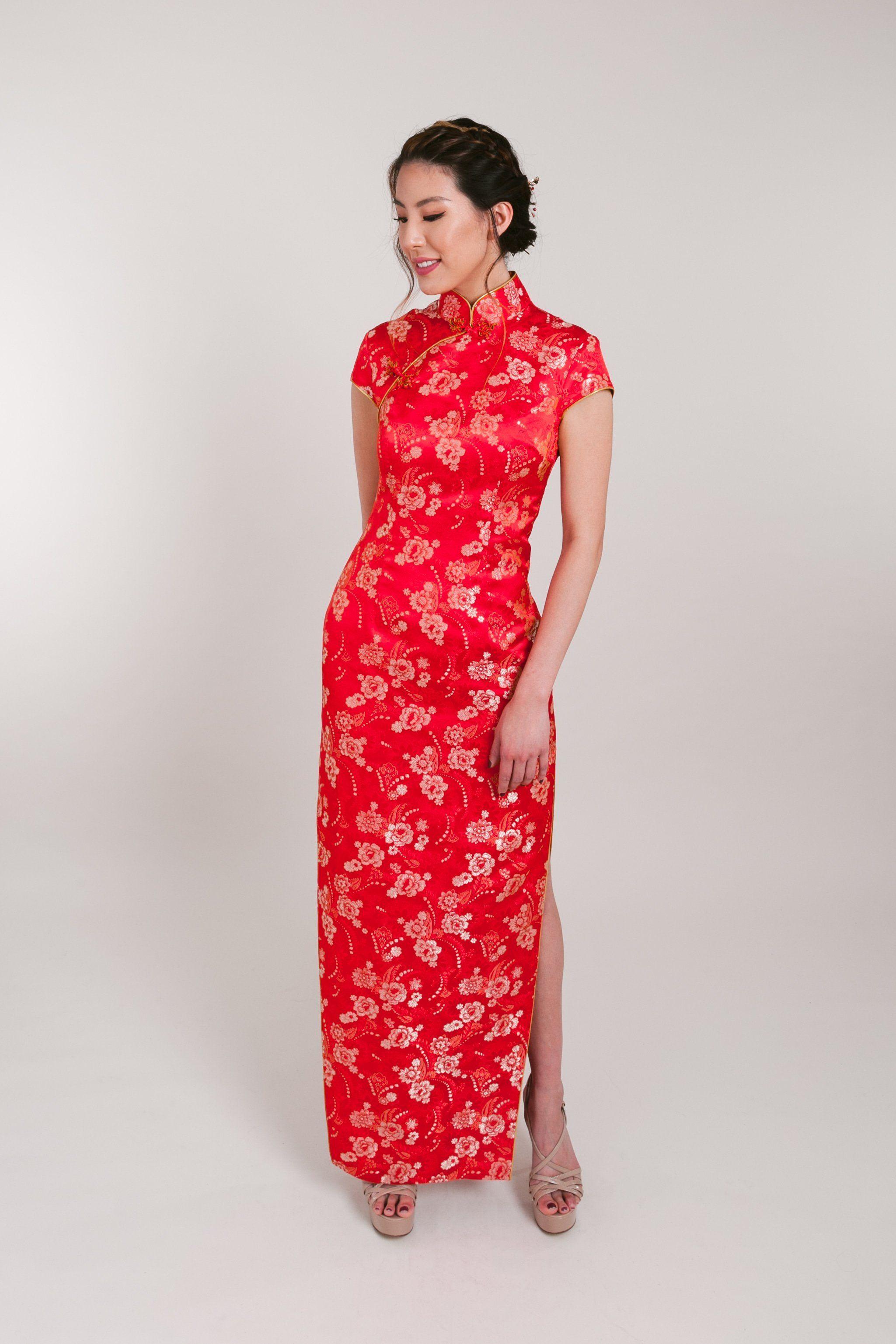 Gemma Bespoke Dress Traditional Chinese Wedding Qipao Chinese Wedding Dress Traditional Chinese Wedding Dresses [ 3074 x 2049 Pixel ]