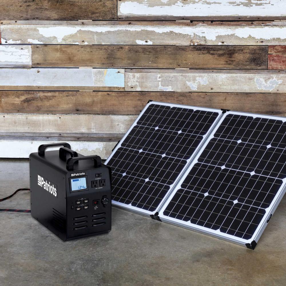 Patriot Power Generator 1800 Solar Power Panels Solar Solar Panels