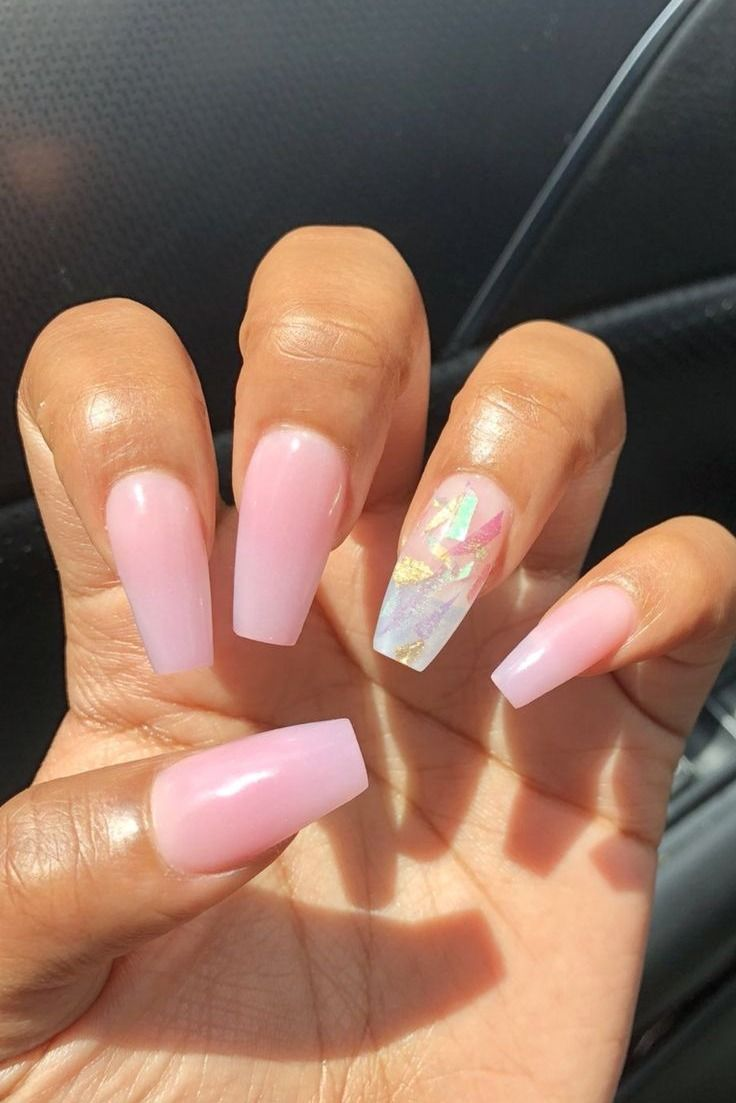 36 Gorgeous Ombre Acrylic Coffin Nails To Wear Vibrant Nail Colors
