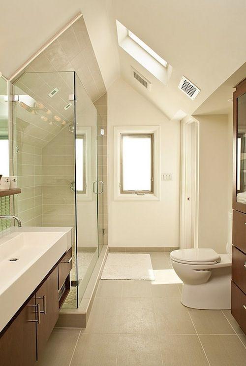 Attic Designs Bathroom Kleines Bad Umbau Kleines Badezimmer Im Dachboden Dachboden Schlafzimmer Ideen
