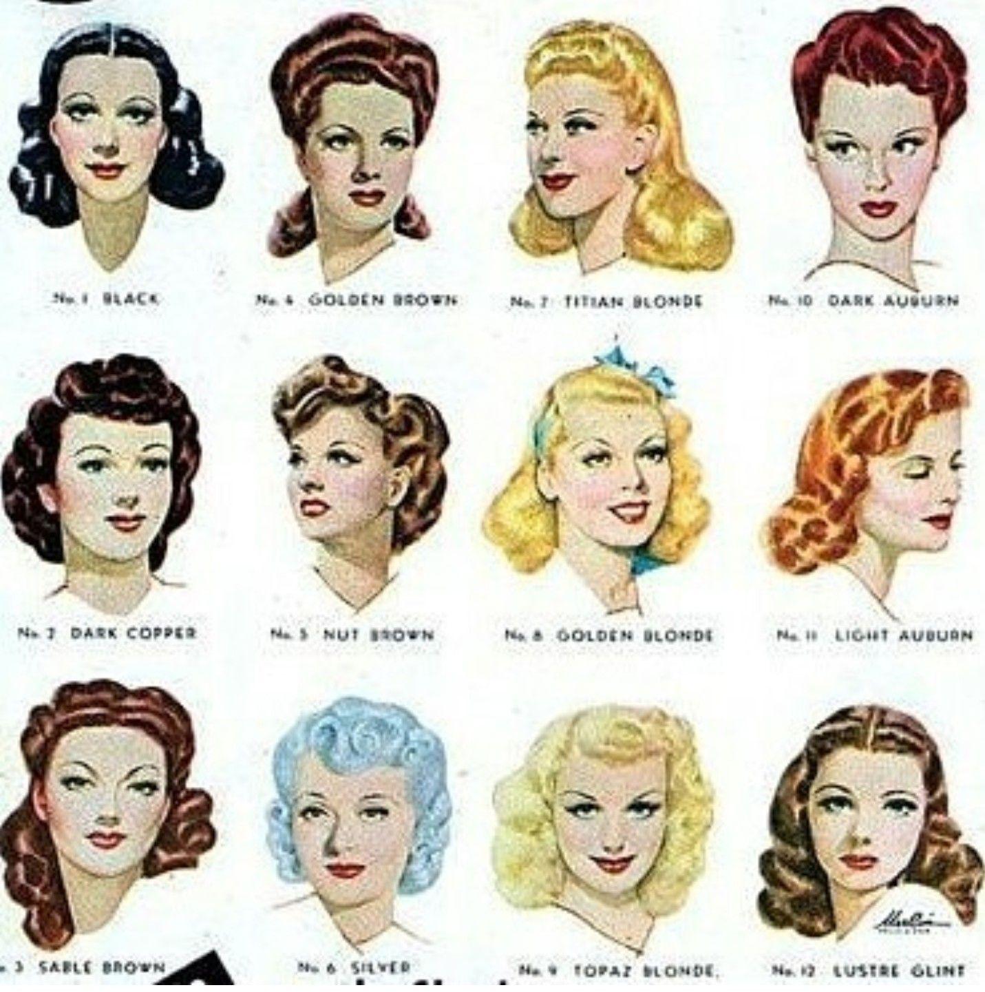 Pin by Doris on Vintage   Vintage hairstyles tutorial, Vintage ...