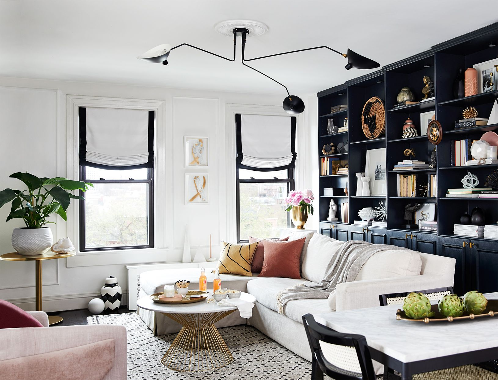 14 Small Space Lessons From A 750 Square Foot Townhome Makeove