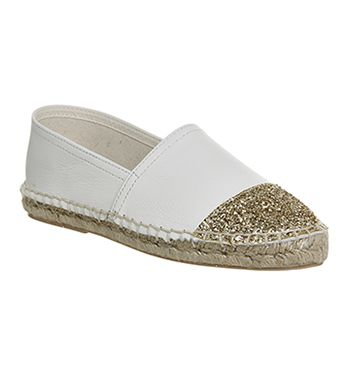 Discount Sale Onfire Sequinned Espadrilles Womens Black Online Store