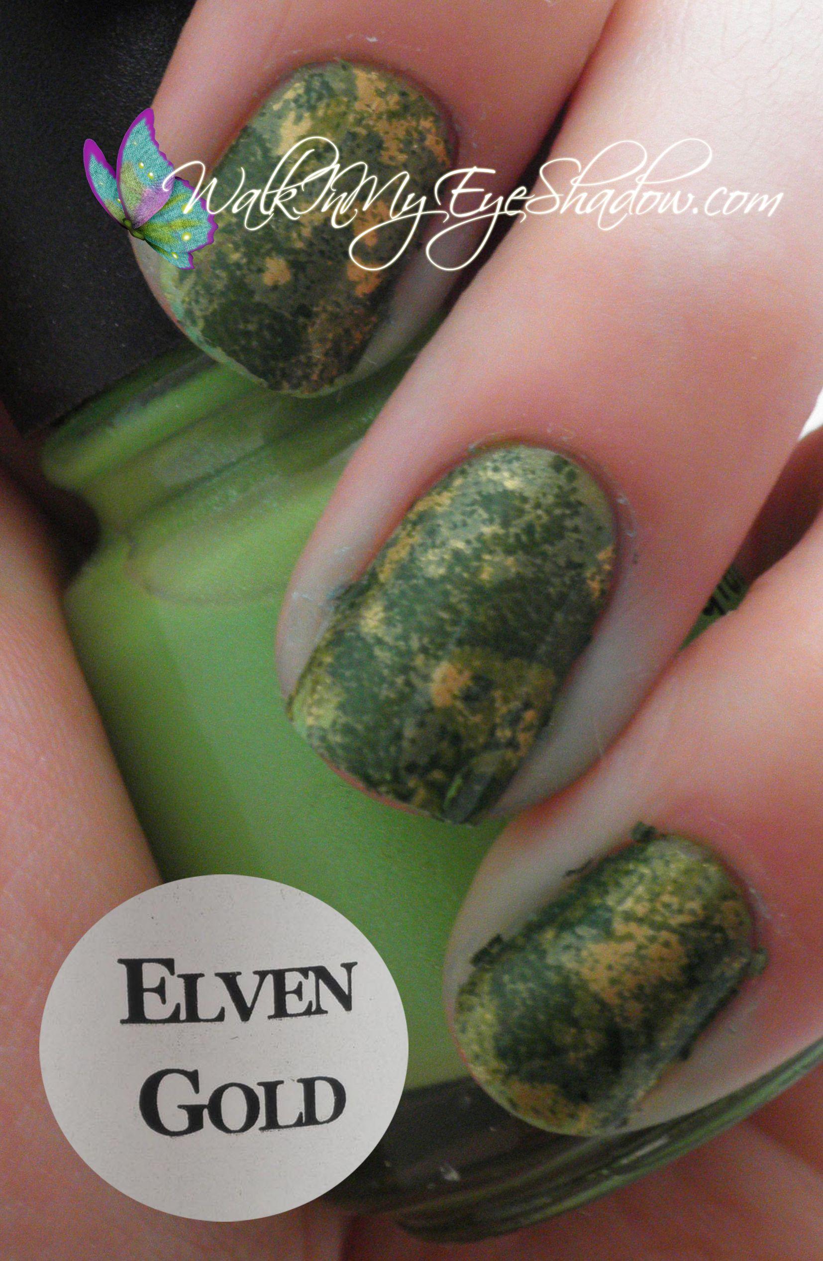 Elven Gold | Nails | Pinterest