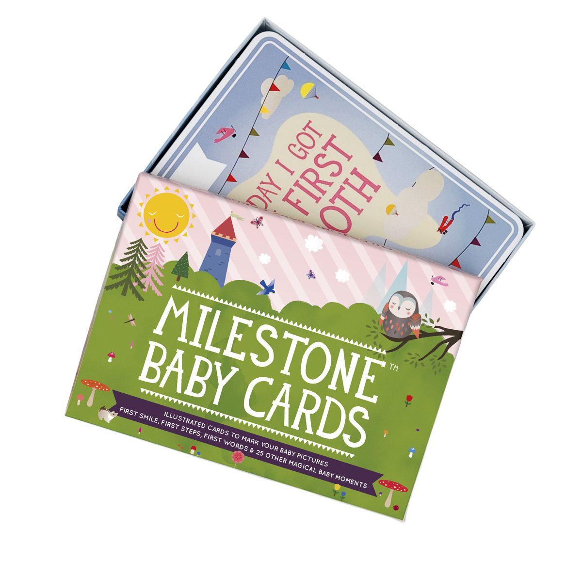 lilzippers - Milestone Cards, $29.95 (http://lilzippers.com.au/baby-store/milestone-cards/)