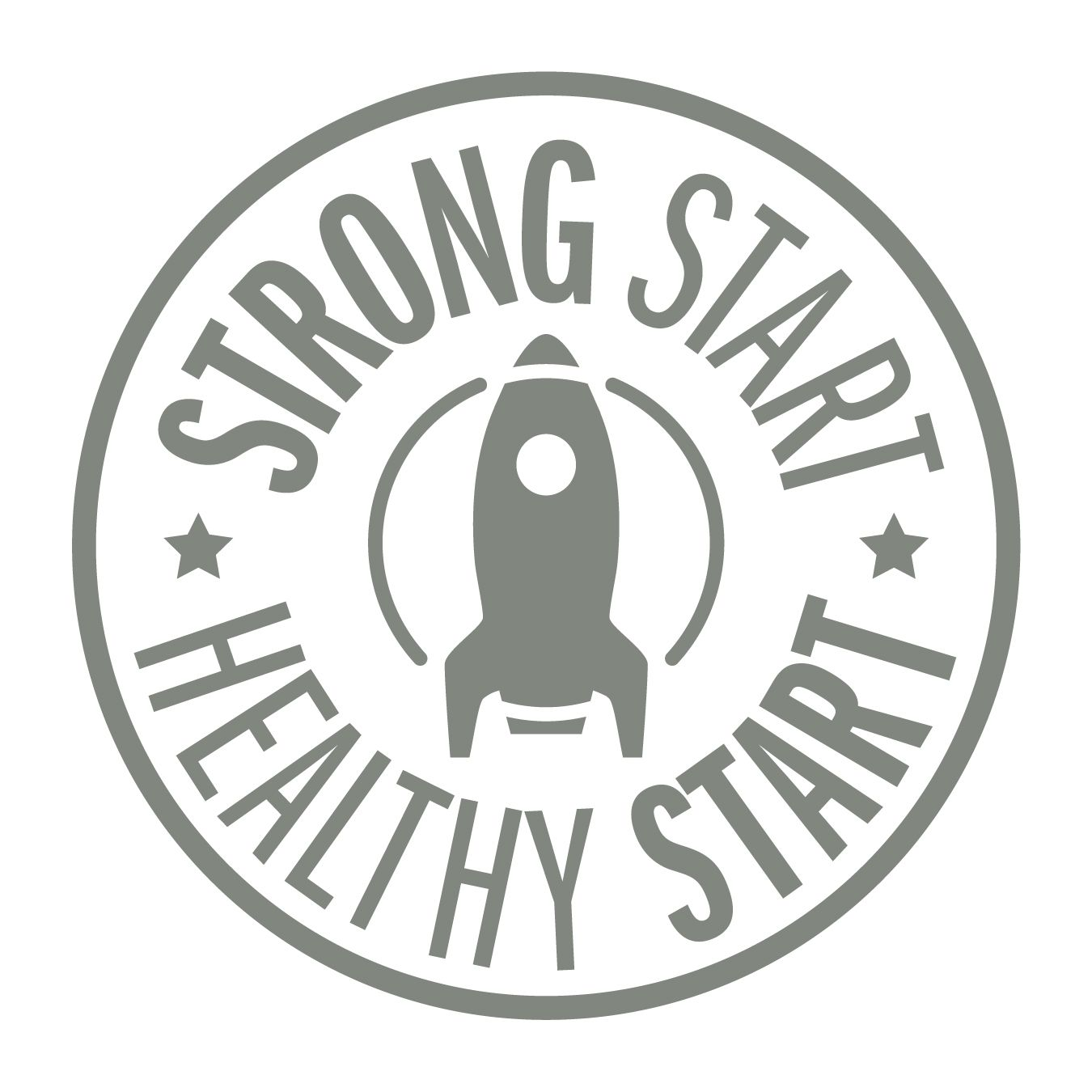 Ingham County Health Department Strong Start Healthy Start Logo