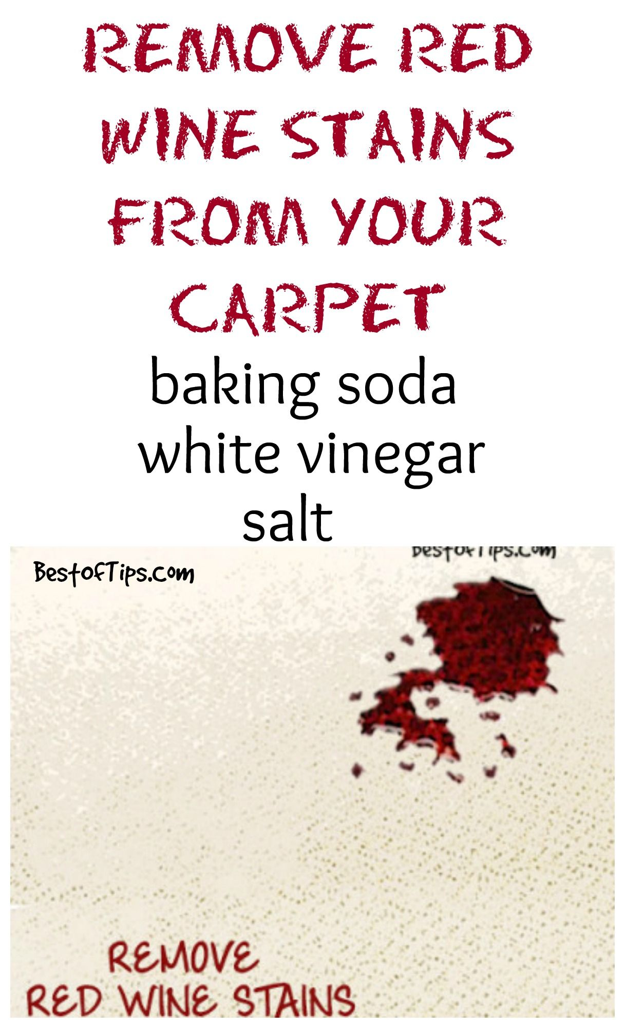 Red Wine Carpet Vinegar Baking Soda Carpet Vidalondon