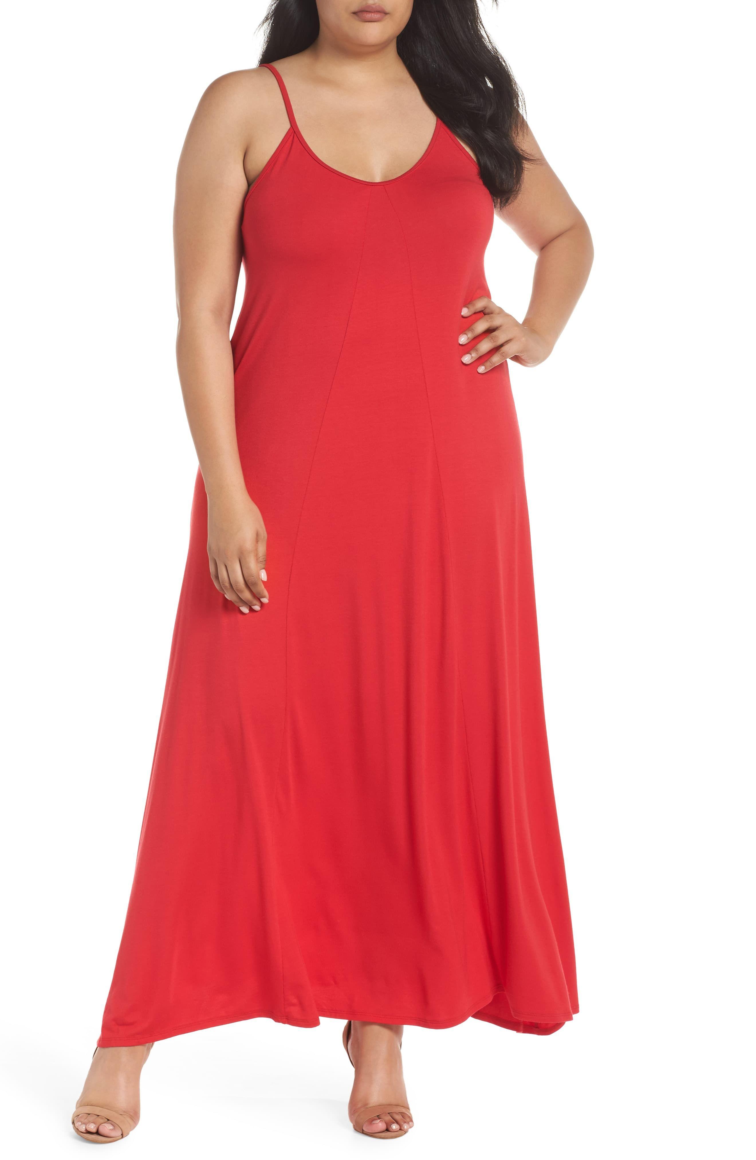 Plus Size Women S Loveappella A Line Maxi Dress Size 2x Red In 2021 Maxi Dress A Line Maxi Dress Plus Size Maxi Dresses [ 4048 x 2640 Pixel ]