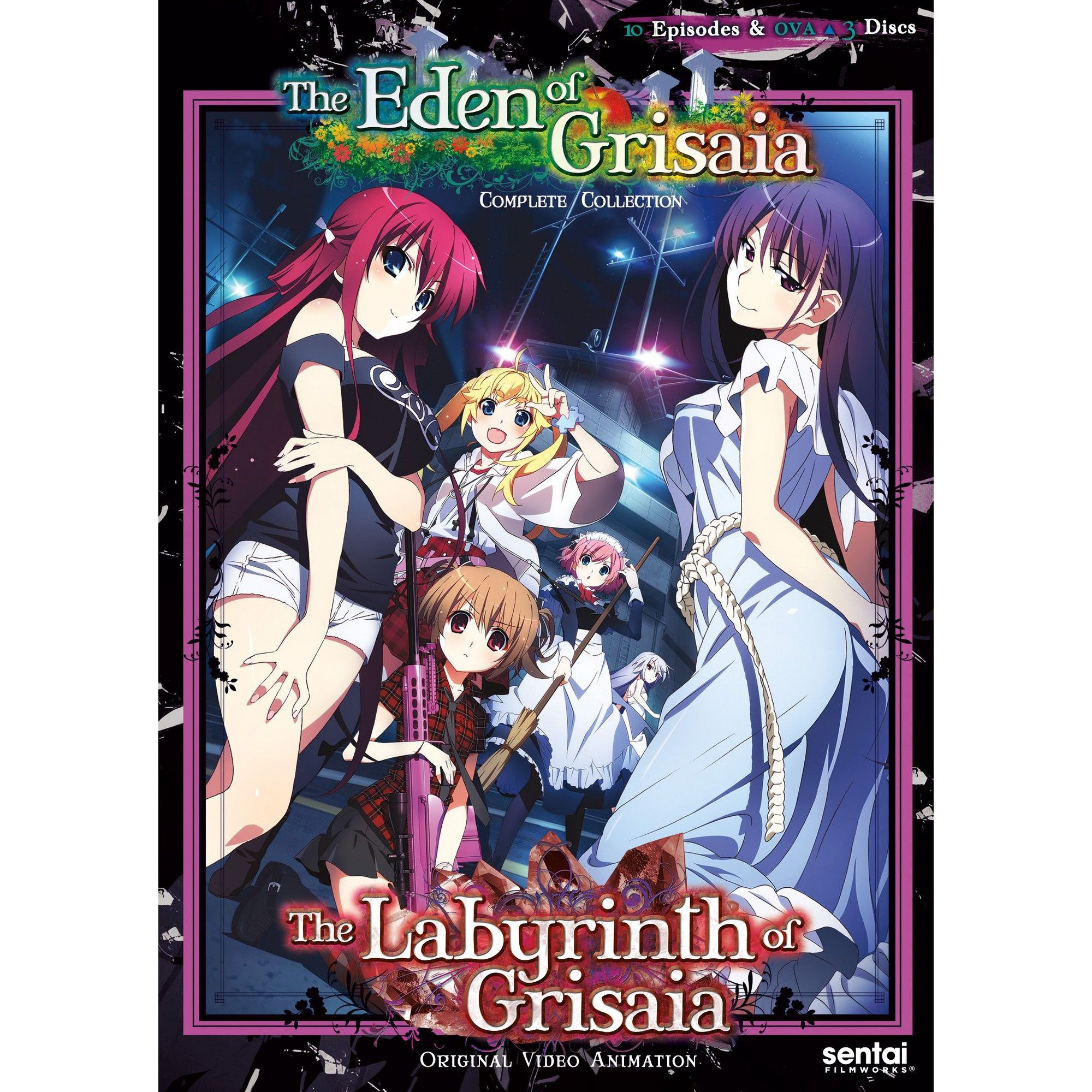 Labyrinth Of Grisaia/Eden Of Grisaia (Dvd) | Products