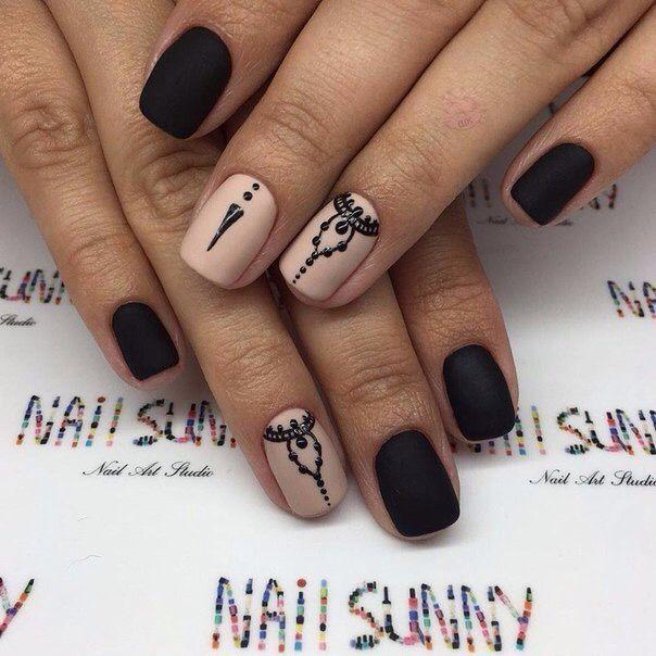 Pin by Polina Makarenko on Nail Art | Pinterest | Manicure, Neutral ...