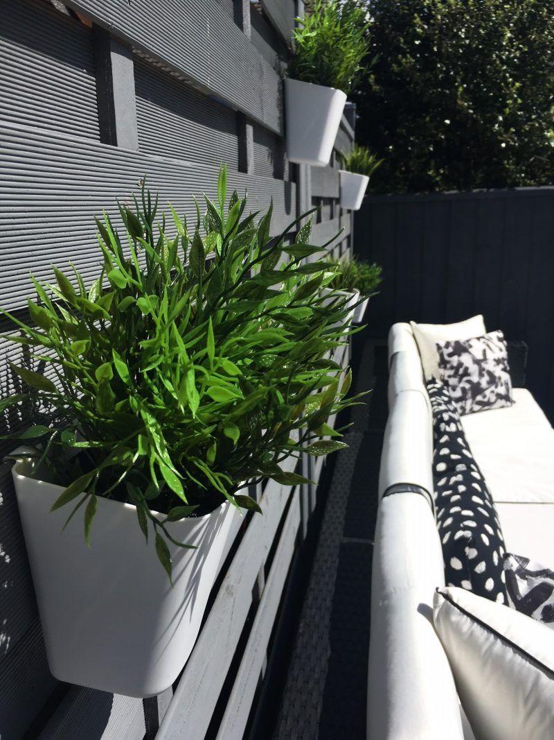ikea artificial plants Modern garden, Ikea plants, Backyard