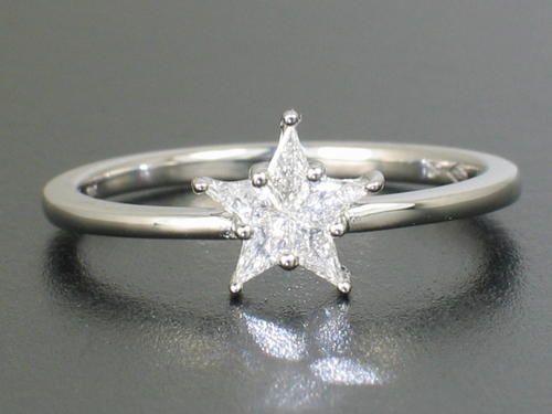 140 CT DVVS1 NOBLE CUT DIAMOND ENGAGEMENT RING 18ct White Gold