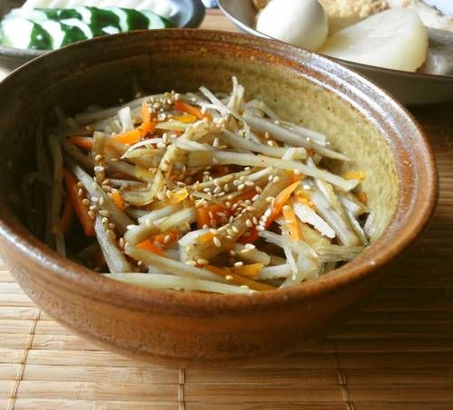Salted Kimpira Side Dish