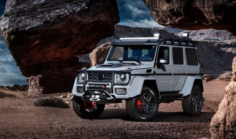 Get Your Explorer On With Brabus 550 Adventure 4 4 Mercedes