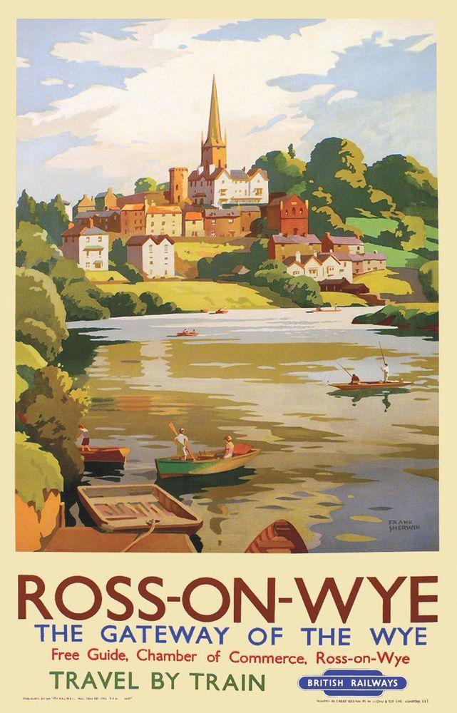 Vintage British Rail Salisbury Railway Poster A4//A3//A2//A1 Print