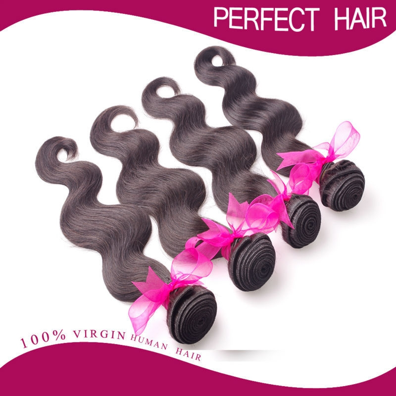 152.89$  Buy here - http://ai0oc.worlditems.win/all/product.php?id=32345654447 - Wholesale Price Virgin Brazilian Body Wave Human Hair Weaves , 2,3,4Bundles lot Brazilian Virgin Hair , Unprocessed Remy Hair