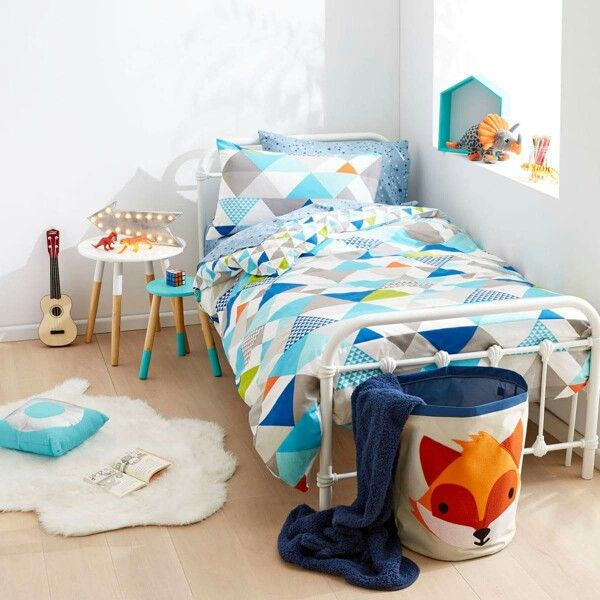 Boys Room Makeover Kmart Australia Style Childrens Bedrooms