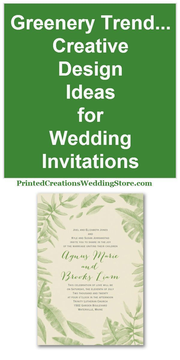 Click here to get inspired with these trendy greenery wedding