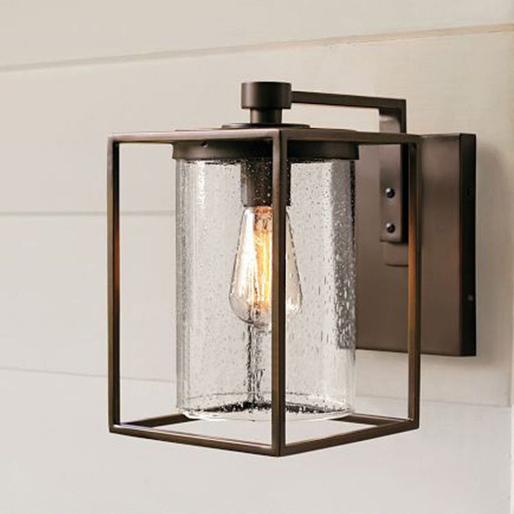 Details about outdoor exterior lantern wall light fixture for Exterior glass wall texture